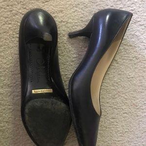 Cole Haan Nike air low heel pump black